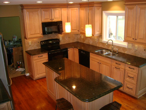Custom Kitchen in finished lower level.