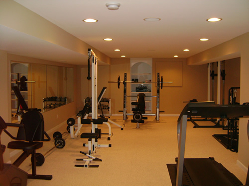 Custom Workout Room
